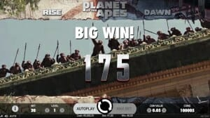 Planet of the Apes Big Win