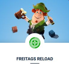 20 Bet Casino Freitags Reload Bonus