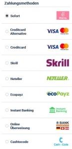 20 Bet Zahlungsmethoden