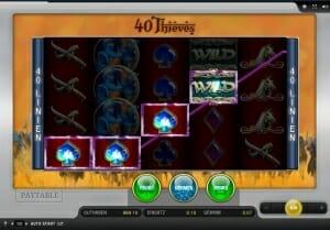 40 thieves gewinn