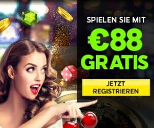 88 Euro gratis bei 888 Casino
