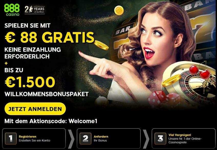 888 Casino Bonus 2019