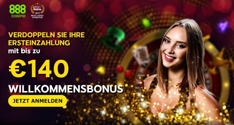 888casino Willkommensbonus