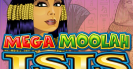 Mega Moolah Isis Logo