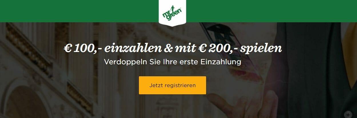 Mr Green Casino Bonus 2020