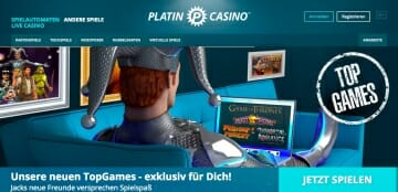 PlatinCasino Top Games