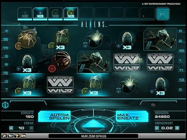 aliens-tabelle