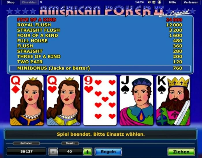 online casino strategie american poker 2