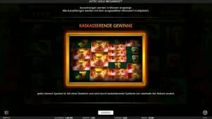 Aztec Gold Megaways Feature