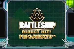 Battleship Direct Hit Megaways Slot Logo