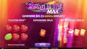 BerryBurst Max Start