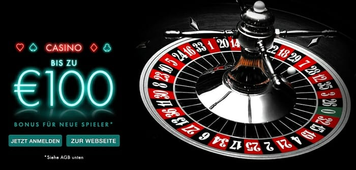 bet365 Bonus 100% bis 100 euro