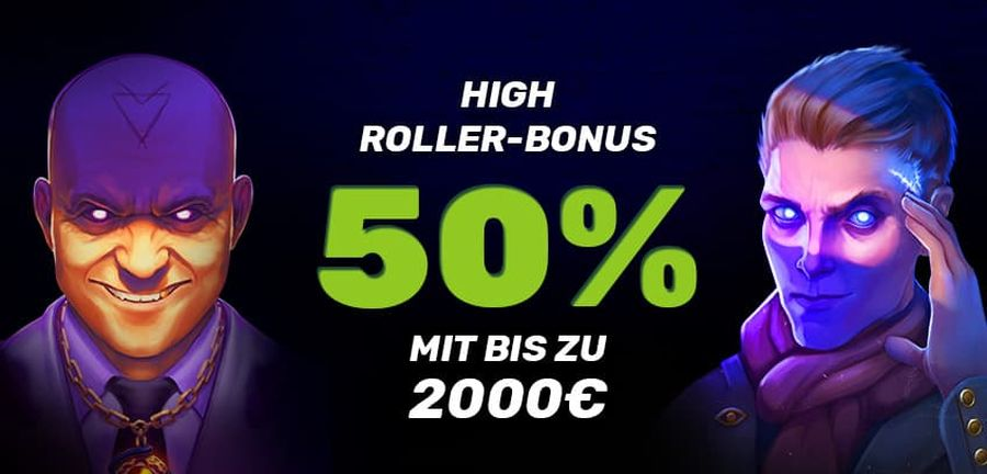 Betamo High Roller Bonus