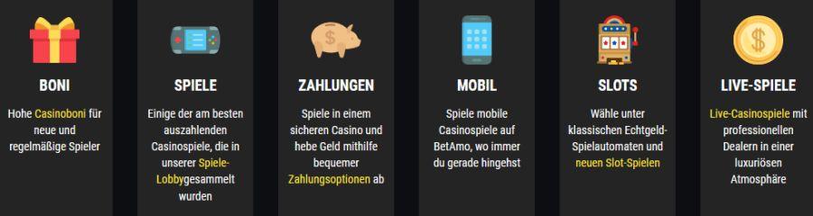 Betamo Casino jetzt testen