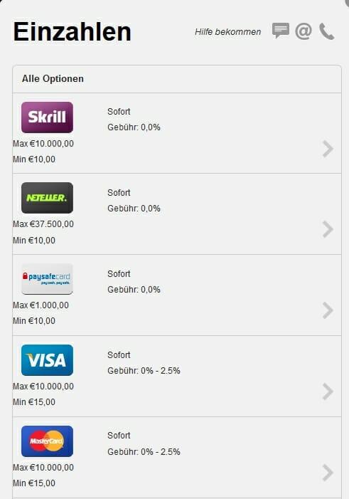 1 euro einzahlen online casino