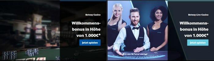 Betway Casino Bonus 2019