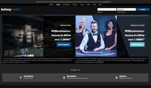 Betway Casino Startseite