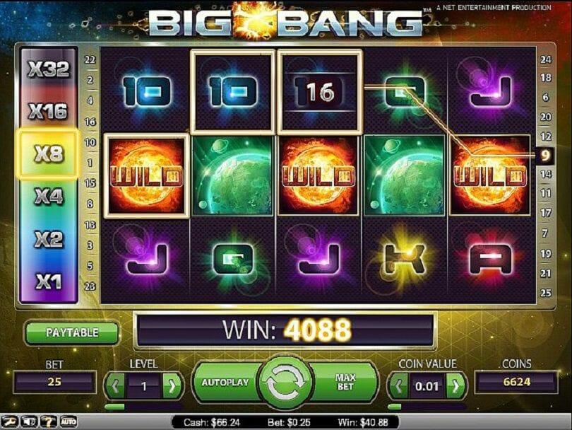 Big Bang Slot Vorschau