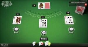 black jack surrender 2 1 karten