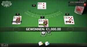 black jack surrender 2 1 spielen