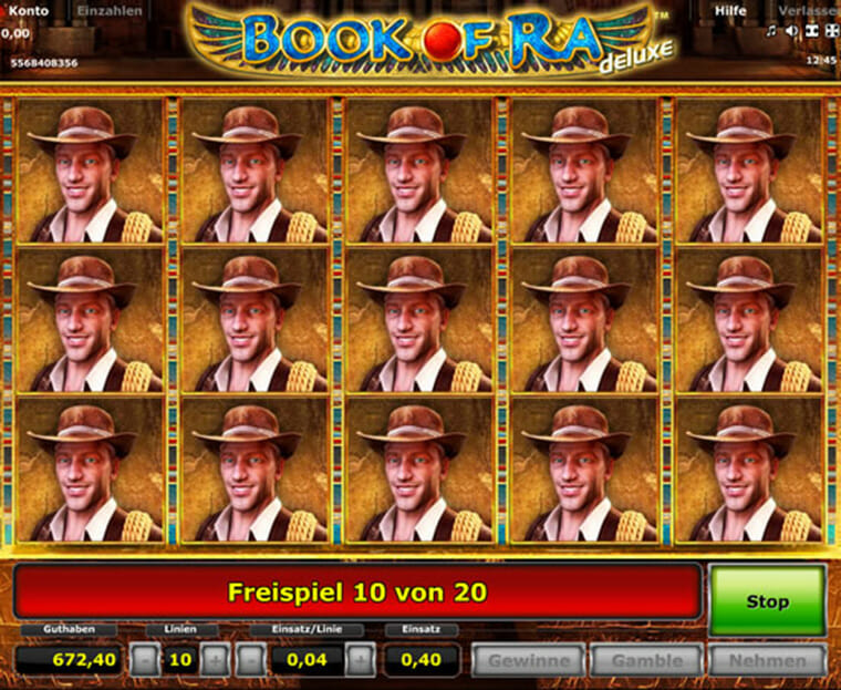 book of ra online casino spielen
