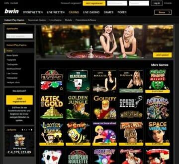 bwin Casino Startseite