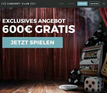 Cabaret Club Startseite