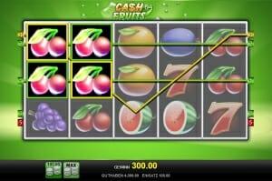 cash fruits plus gewinn