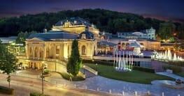 Casino Baden bei Nacht