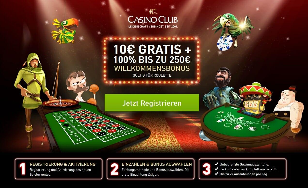 Casino Club Bonus