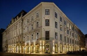 Casino Graz bei Nacht