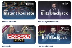 Casino Room Live Spiele