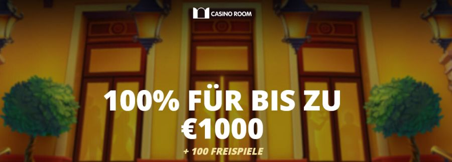 Jetzt Casino Room Bonus abholen