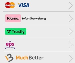 Casiplay Zahlungsmethoden