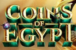 Coins of Egypt Slot Logo