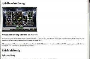 diamond casino auszahlungsquote