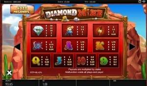 Diamond Mine Megaways Vorschau 1