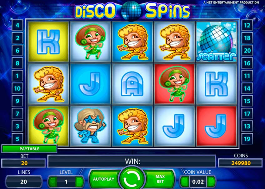 Disco Spins Vorschau