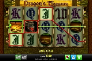 dragons treasure gewinn