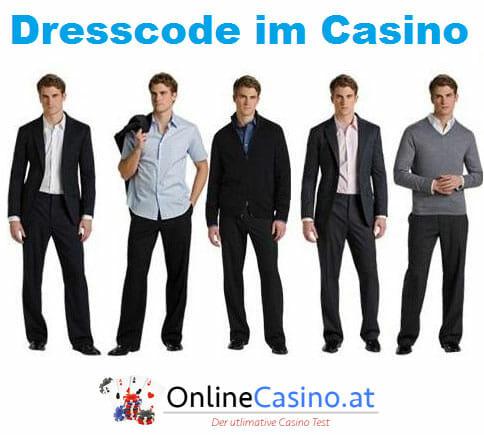 Dresscode im Casino für Männer