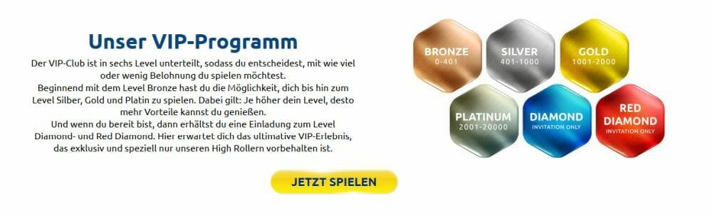 DrückGlück VIP Programm