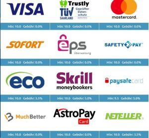 DrückGlück Zahlungsmethoden