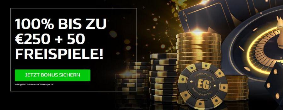 Eurogrand Casino Bonus 2021