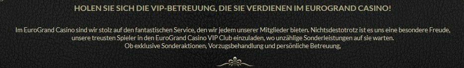 Eurogrand VIP