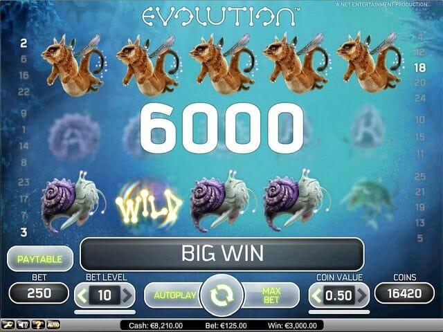 evolution-tabelle