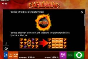 Explodiac Vorschau Bombe