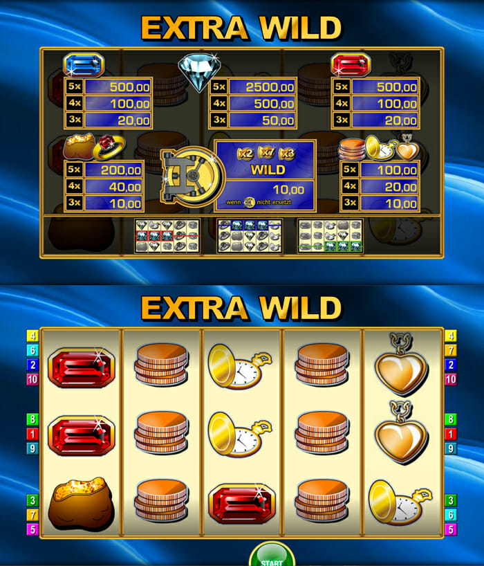 online casino sites extra wild spielen