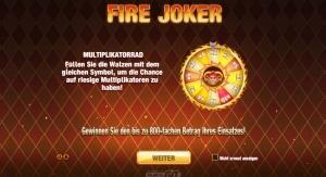 Fire Joker Vorschau Feature