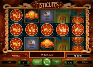 Fisticuffs Big Win