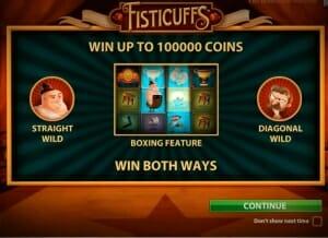 Fisticuffs Bonus